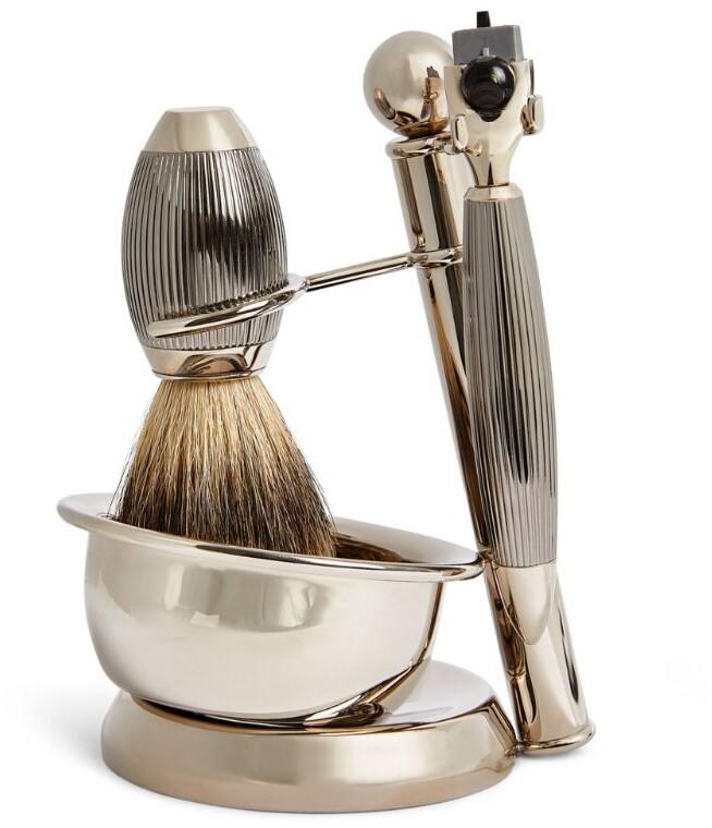 Zodiac Nickel 3-Piece Shaving Set