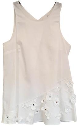Thakoon White Cotton Tops