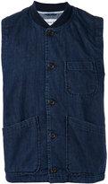 Universal Works Chore waistcoat - men - Cotton/Spandex/Elastane - S
