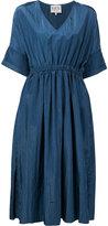 Sea shift midi dress - women - Rayon/Polyester - 4