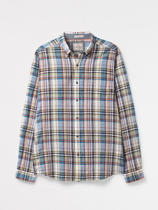 White Stuff Akasia Textured Check Shirt