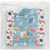 Cath Kidston Mallory Ditsy Bag of 6 Printed Fold Over Clips