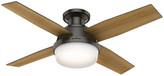 """Hunter Fan Company 44"""" Dempsey Low-Profile Bronze Ceiling Fan W/ Light"""