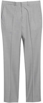 Theory Jake W. Argo Grey Solid Wool Suit Separates Pants