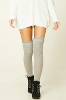 Forever 21 FOREVER 21+ Over-The-Knee Knit Socks
