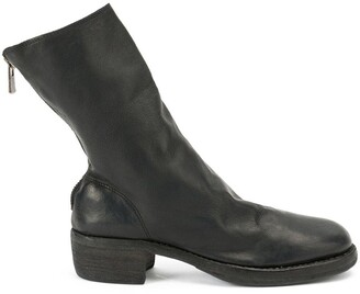 Guidi slingback ankle boots