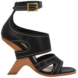 Alexander McQueen Leather Upper And Rubber