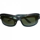 Gucci Grey Plastic Sunglasses