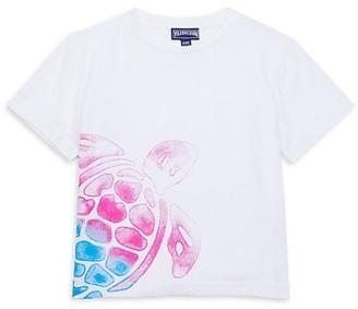 Vilebrequin Little Boy's & Boy's Thomy Turtle T-Shirt