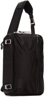 Master-piece Co Black Lightning Sling Backpack