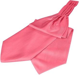 Forzieri Solid Color Pure Silk Ascot