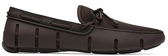 Swims Mesh Braided Lace Loafers