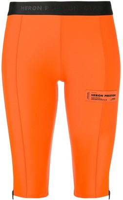 Heron Preston knee-length cycling shorts