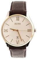 HUGO BOSS Governor Watch Brown