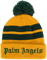 Palm Angels stripes beanie
