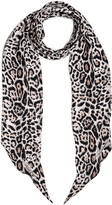 Roberto Cavalli Printed Light Satin Scarf