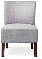 Threshold Scooped Back Chair - Gray