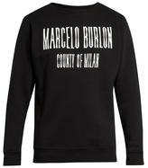 Marcelo Burlon County of Milan El Misti crew-neck sweatshirt