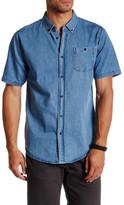 Ezekiel Seal Beach Short Sleeve Regular Fit Woven Shirt