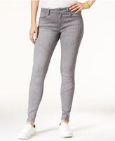 Celebrity Pink Juniors' Infinite Stretch Moto Ankle Skinny Jeans