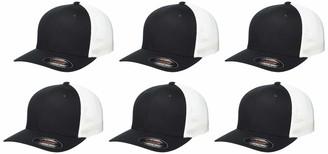 Clementine Apparel Men's CLM-SM-C812-Flexfit Mesh Back Cap (6 PK)