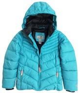Champion Girls' Puffer Jacket - Blue