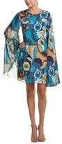 Trina Turk Tess Silk-blend Shift Dress.