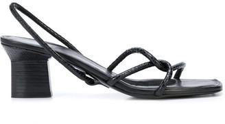 Rosetta Getty Strappy Slingback Sandals