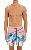 Vilebrequin Men's Chair Lift Swim Trunks-PINK