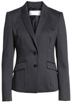 BOSS Petite Women's Jukani Check Wool Blend Suit Jacket