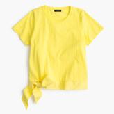 J.Crew Side-tie T-shirt