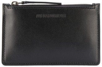 Ann Demeulemeester Slim Leather Wallet