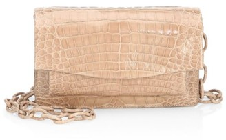 Nancy Gonzalez Eden Crocodile Crossbody Bag