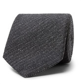 Tom Ford 8cm Mélange Silk and Wool-Blend Tie