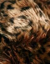 Asos Trapper Hat in Leopard Print