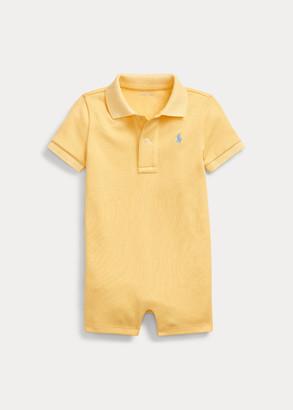 Ralph Lauren Cotton Interlock Polo Shortall