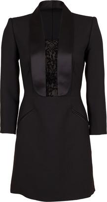 Alexander McQueen Lace Tux Dress