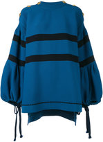 Sonia Rykiel sweatshirt dress - women - Cotton/Nylon - S
