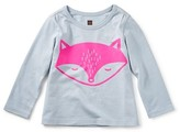Tea Collection Toddler Girl's Fox Fit Tee