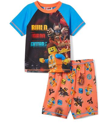 Your Own Sg Footwear SG Footwear Boys' Sleep Bottoms - LEGO Movie 2 TOD 'Build Future' Pajama Set - Toddler