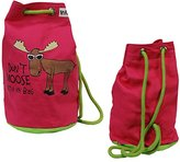 Lazyone Unisex-Child Don't Moose Lazyone Tote Bag Backpack Multicolour