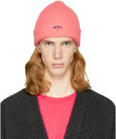 Noah Nyc Pink Core Logo Beanie