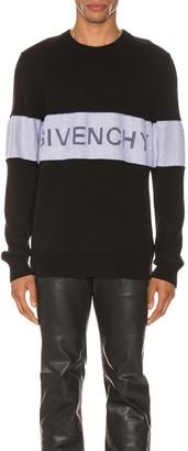 Givenchy Crewneck in Black & White | FWRD