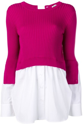 Kenzo Layered Knitted Top