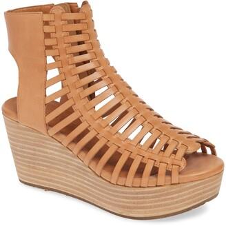 Chocolat Blu Weber Strappy Wedge Sandal