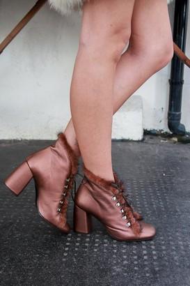 Portamento - Leon Copper Boots - 36 - Copper