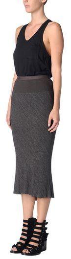 Rick Owens LILIES 3/4 length skirt