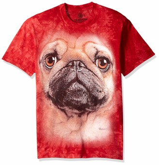 The Mountain Pug Face Adult T-Shirt