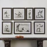 Vintage Football Techniques Framed Wall Art 7-piece Set