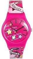 Pink Cookie Cookie Ladies-Girls Analogue Motiff Design PU Strap Watch PCL-0019